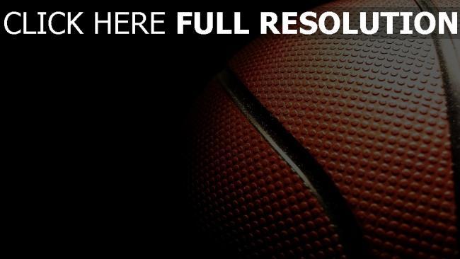 fond d'écran hd basket-ball balle gros plan