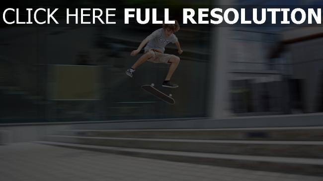 fond d'écran hd skateboard truc flou