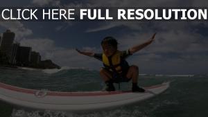 surf bébé geste hong kong