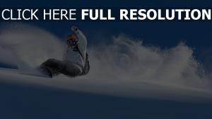 snowboard vitesse dérapage