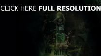 ray allen basket-ball nba