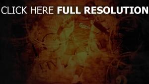 football joueur balle silhouette