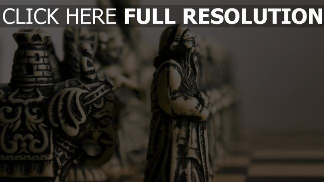 fond d'écran hd échecs échiquier pièce gros plan