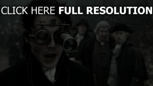 johnny depp visage sleepy hollow