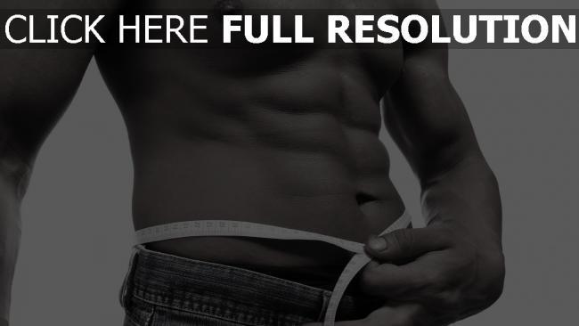 fond d'écran hd muscles noir et blanc torse