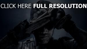call of duty masque poil