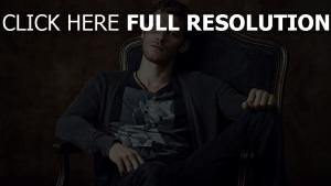 joseph morgan acteur vue de face