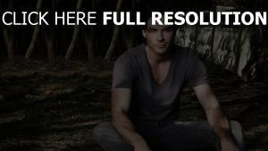 ian somerhalder t-shirt acteur bel