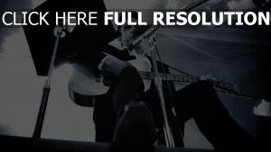 johnny cash noir et blanc chanteur