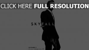 daniel craig 007 costume affiche