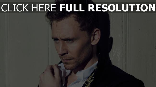 fond d'écran hd tom hiddleston yeux bleus élégant