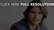 tom cruise visage cheveux longs acteur
