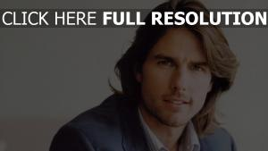 tom cruise visage cheveux longs acteur