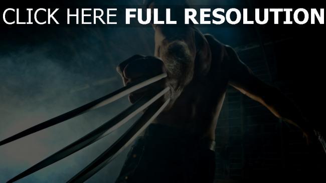 fond d'écran hd hugh jackman lame muscles acteur