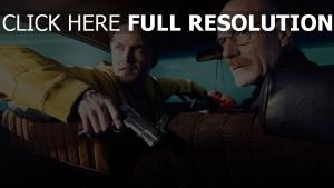 breaking bad walter white jesse pinkman visage