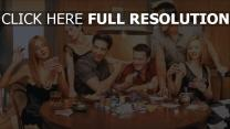 friends personnages principaux poker