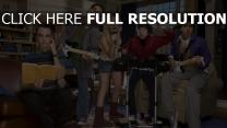 big bang theory personnages principaux groupe