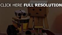 wall-e film d'animation robot inscription
