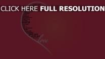 cœur rose inscription