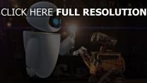 wall-e robot lumière couple