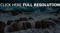 pierre mousse mer magnifique