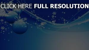 flocon de neige courbe bleu