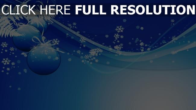 fond d'écran hd flocon de neige courbe bleu