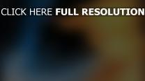 silhouette arrière-plan flou