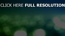 lanterne vert arrière-plan flou