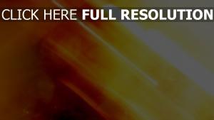 rayon orange arrière-plan flou