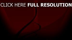 courbe foncé rouge