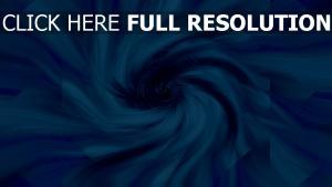 entonnoir bleu perspective