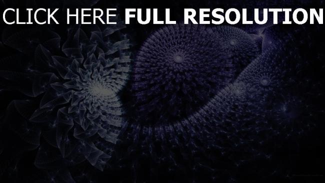 fond d'écran hd structure sphère énergie pourpre lumineux