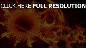 motif feu sphère