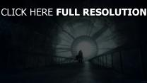 mecanisme silhouette tunnel