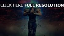 ken - fist of the blue sky guerrier énergie