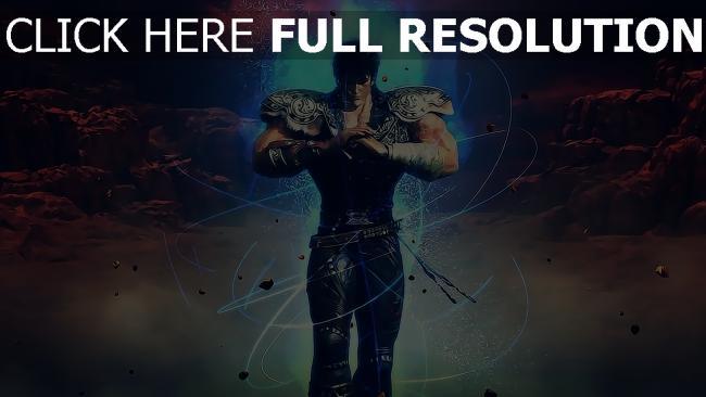 fond d'écran hd ken — fist of the blue sky guerrier énergie