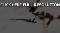 final fantasy épée saut roux