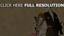 bleach couple ichigo kurosaki motif