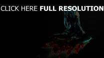 hatsune miku rose triste turquoise chanteuse