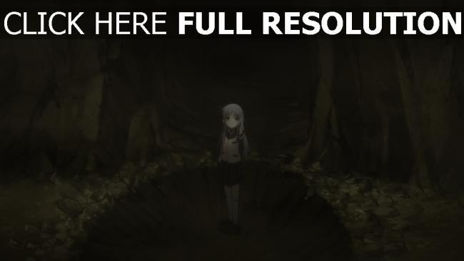 fond d'écran hd jeune tunnel cratère