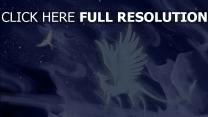 loup aile vent ciel