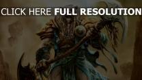 armure tigre guerrier lame