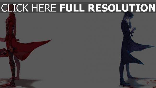 fond d'écran hd guerrier rouge manteau élégant