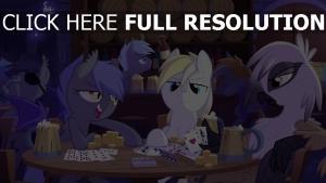 cheval amis carte à jouer