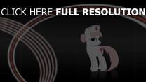 infirmière cheval bébé courbe mignonne