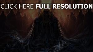 trône rayon nécromancien