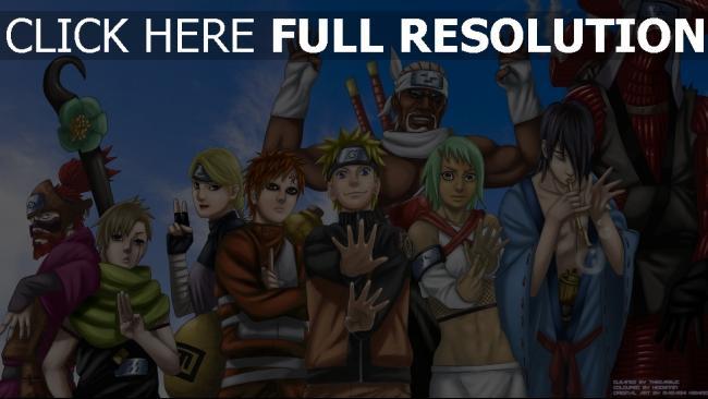 Fond D Ecran Hd Naruto Personnages Principaux Images Et Photos