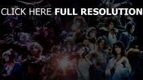 final fantasy personnages principaux