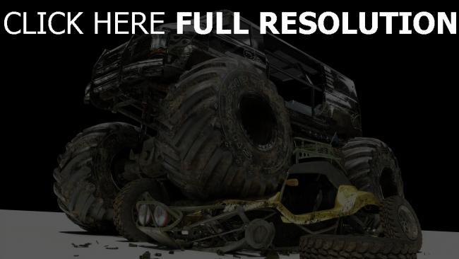 fond d'écran hd véhicule tout-terrain grand ruines